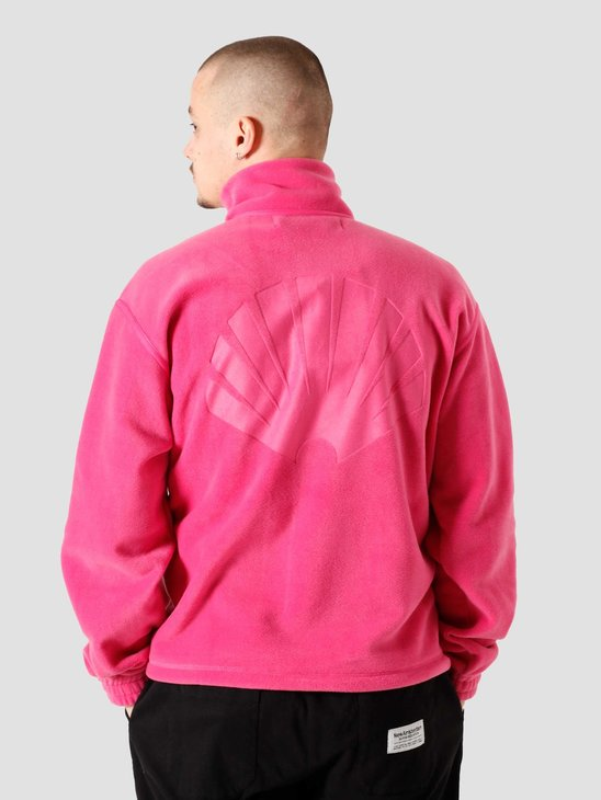 New Amsterdam Surf association Larry Fleece Half Zip Jacket Magenta 2021066