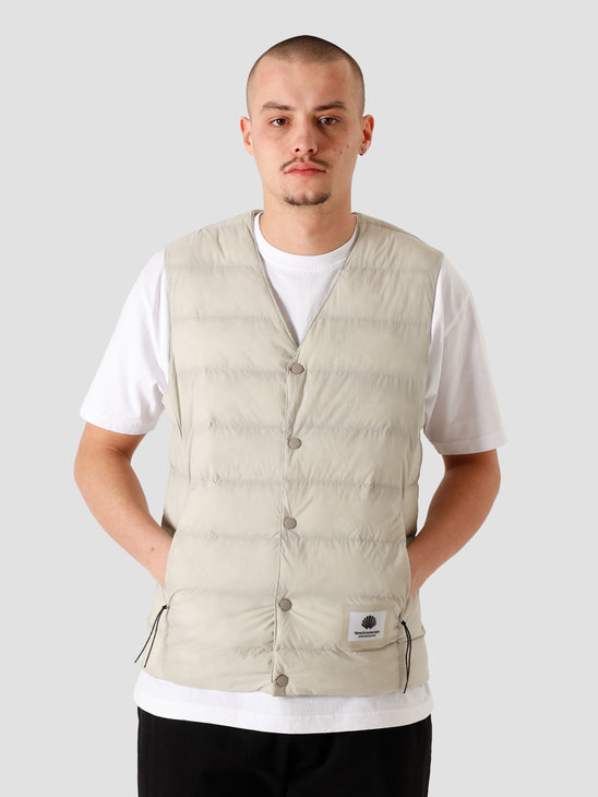 New Amsterdam Surf association Rib Vest Reversible Taupe Grey 2021091