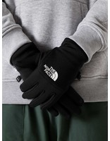The North Face The North Face Etip Recycled Glove Black White NF0A4SHAKY4