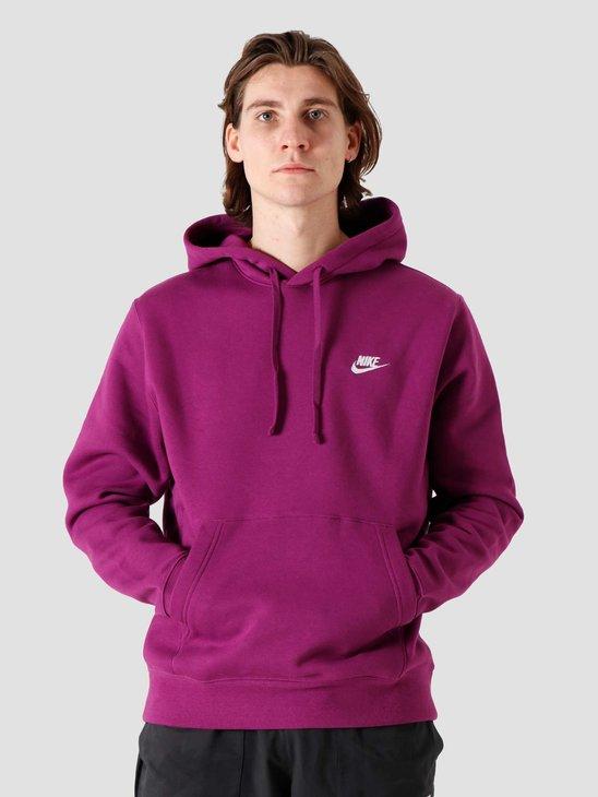 Nike NSW Club Hoodie Viotech White BV2654-503