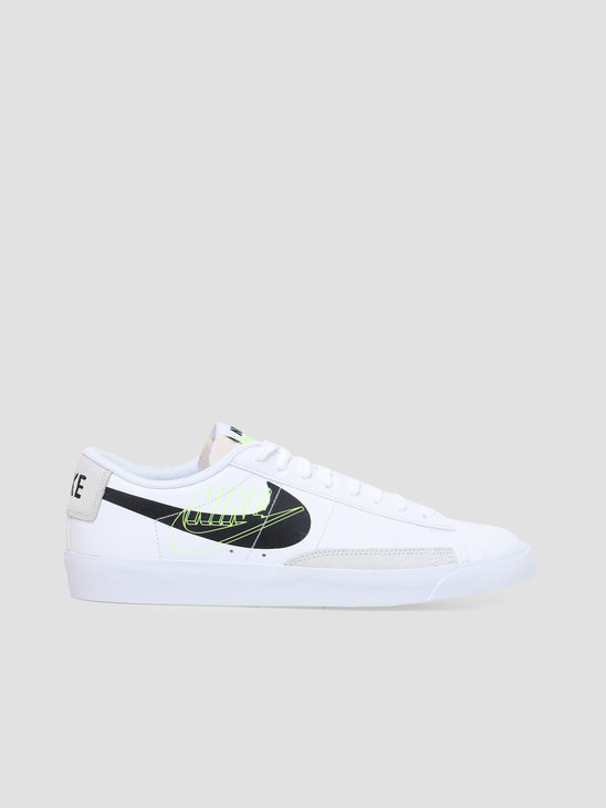Nike Blazer Low White Black Volt Summit DA4652-100