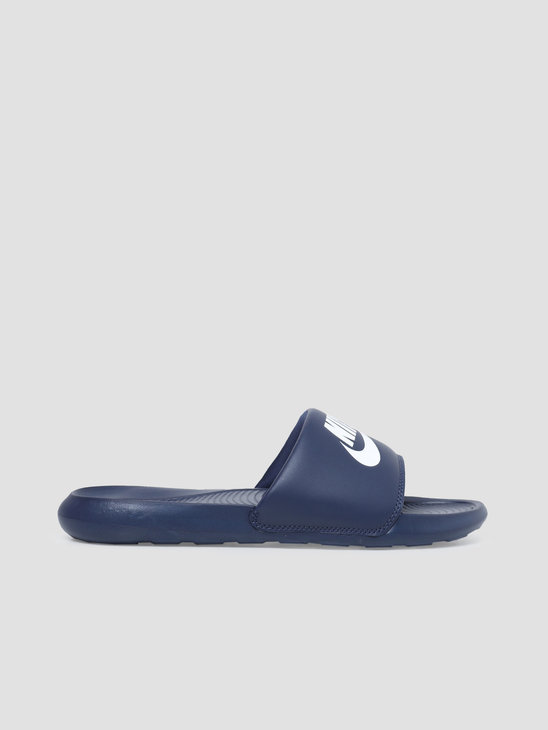 Nike Victori One Slide Midnight Navy White CN9675-401