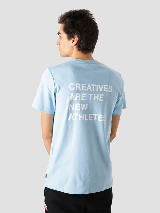 The New Originals Catna T-Shirt Light Blue