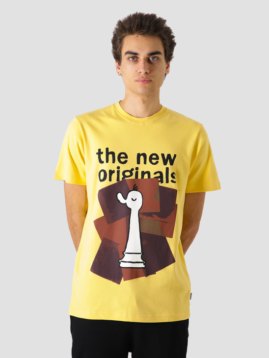 The New Originals Chess T-Shirt Yellow