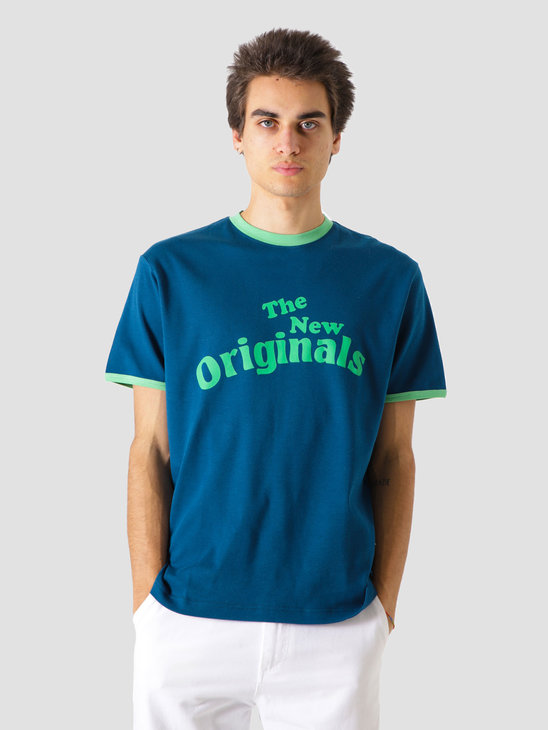The New Originals Workman T-Shirt Blue