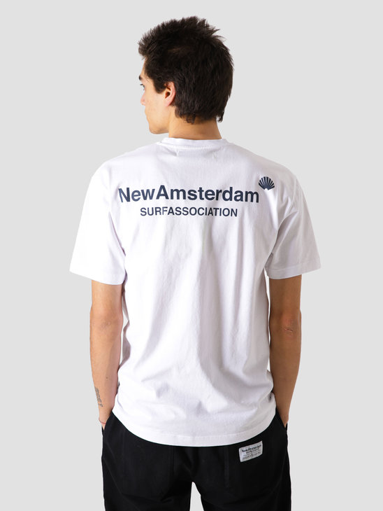 New Amsterdam Surf association Logo Tee White Qs Aw20