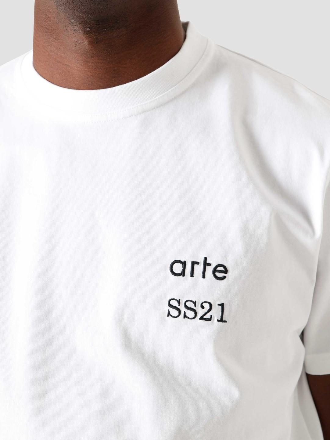 Arte Antwerp Arte Antwerp Tomi Back Flower White 047T