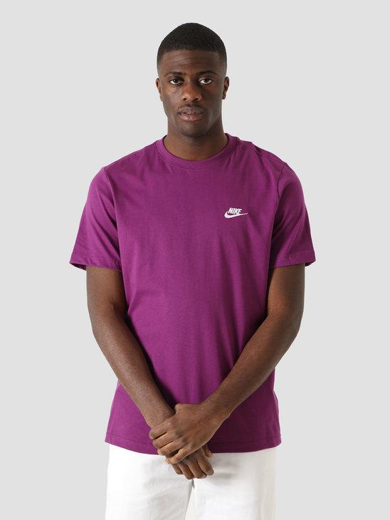 Nike NSW Club T-Shirt Viotech White AR4997-503