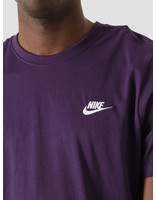 Nike Nike NSW Club T-Shirt Grand Purple White AR4997-525