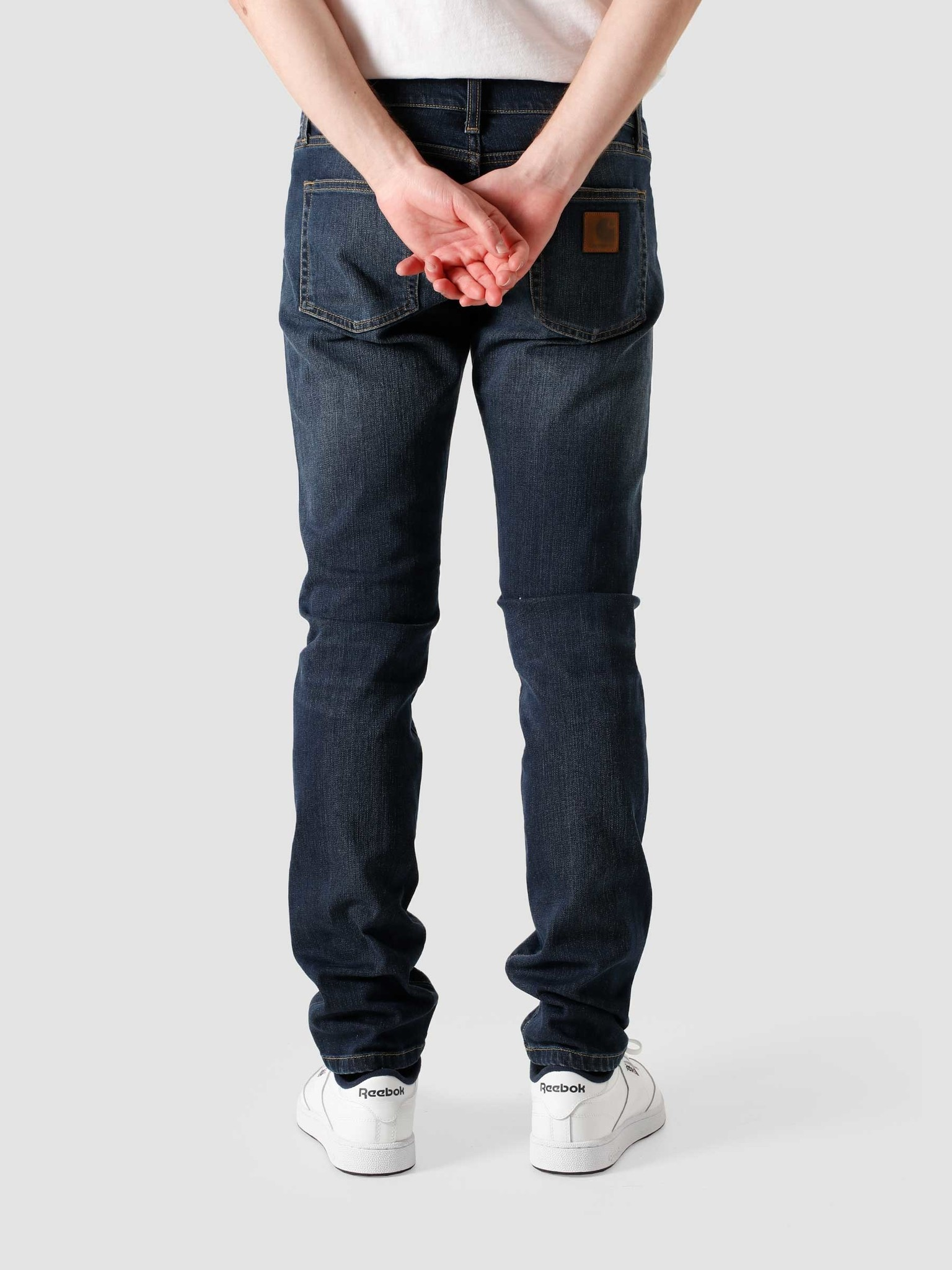 Carhartt WIP Carhartt WIP Rebel Pant Dark Worn Wash Blue I015331-01WV