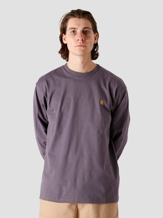 Carhartt WIP Chase T Shirt Provence Gold I026392-0AF90