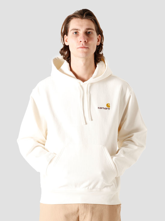 Carhartt WIP Hooded American Script Sweat Wax I028279-D600