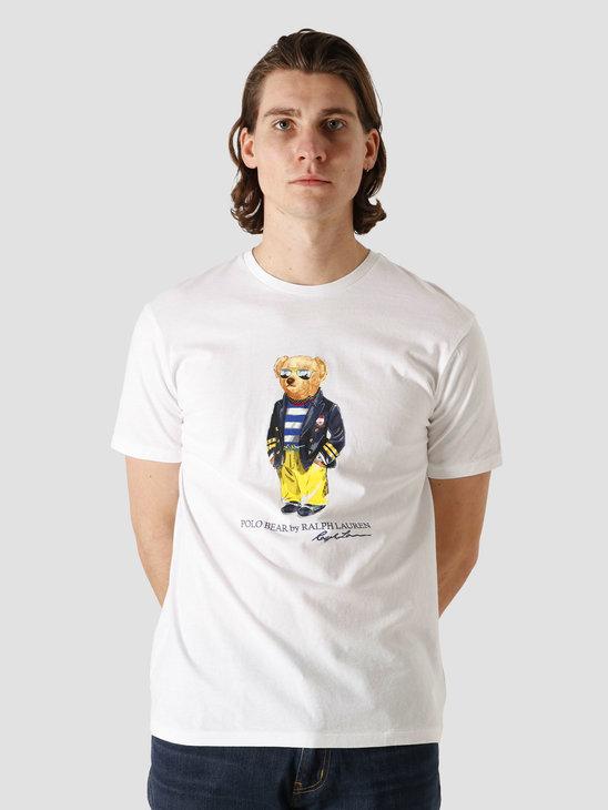 Polo Ralph Lauren Jersey T-Shirt White 710837306002