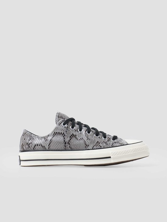 Converse Chuck 70 HI Grey Leather 170104C