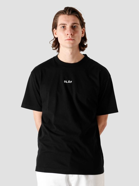 Olaf Hussein OH Block T-Shirt Black