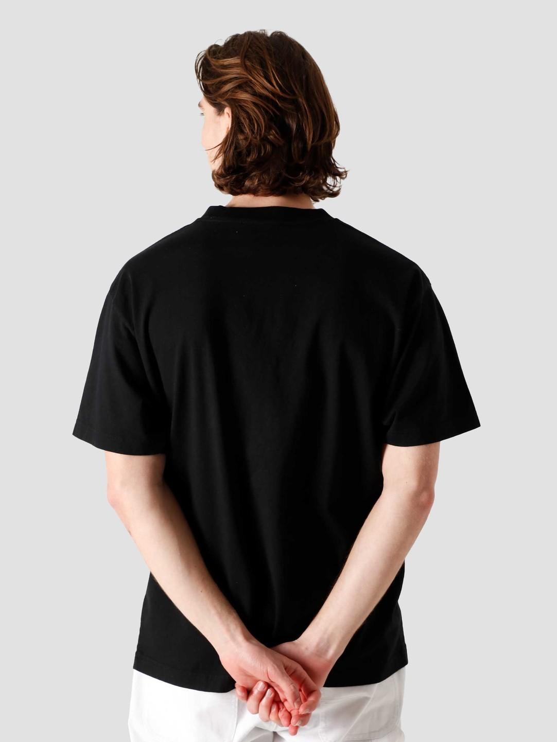 Olaf Hussein Olaf Hussein OH Block T-Shirt Black