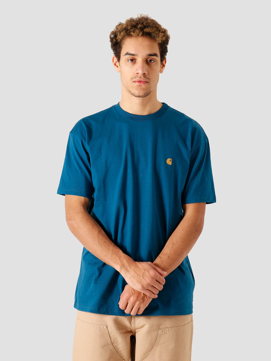 Carhartt WIP SS Chase T Shirt Corse Gold I026391-88890