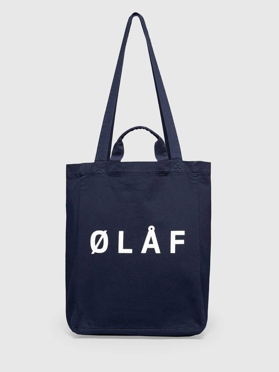Olaf Hussein OH Tote Bag Navy