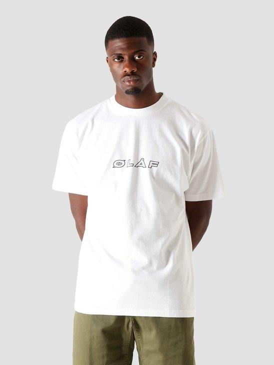 Olaf Hussein OH Italic T-Shirt White FA20