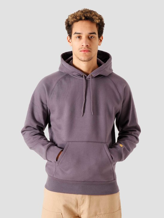 Carhartt WIP Hooded Chase Sweat Provence Gold I026384-0AF90