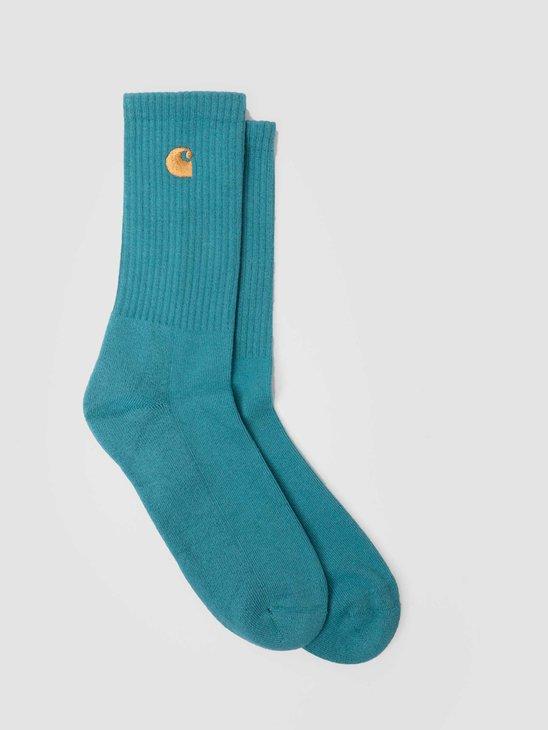 Carhartt WIP Chase Socks Hydro Gold I029421-0AC90
