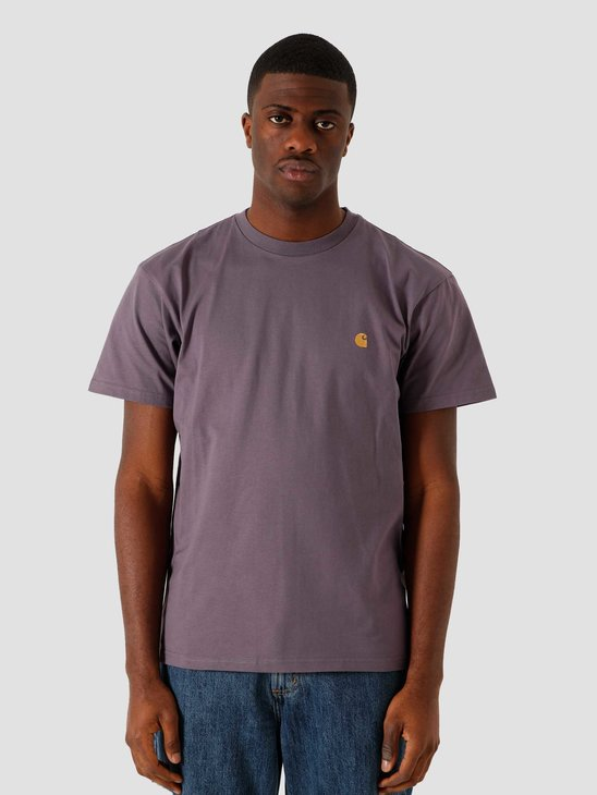 Carhartt WIP SS Chase T Shirt Provence Gold I026391-0AF90
