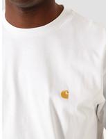 Carhartt WIP Carhartt WIP Chase T-Shirt White Gold I026391