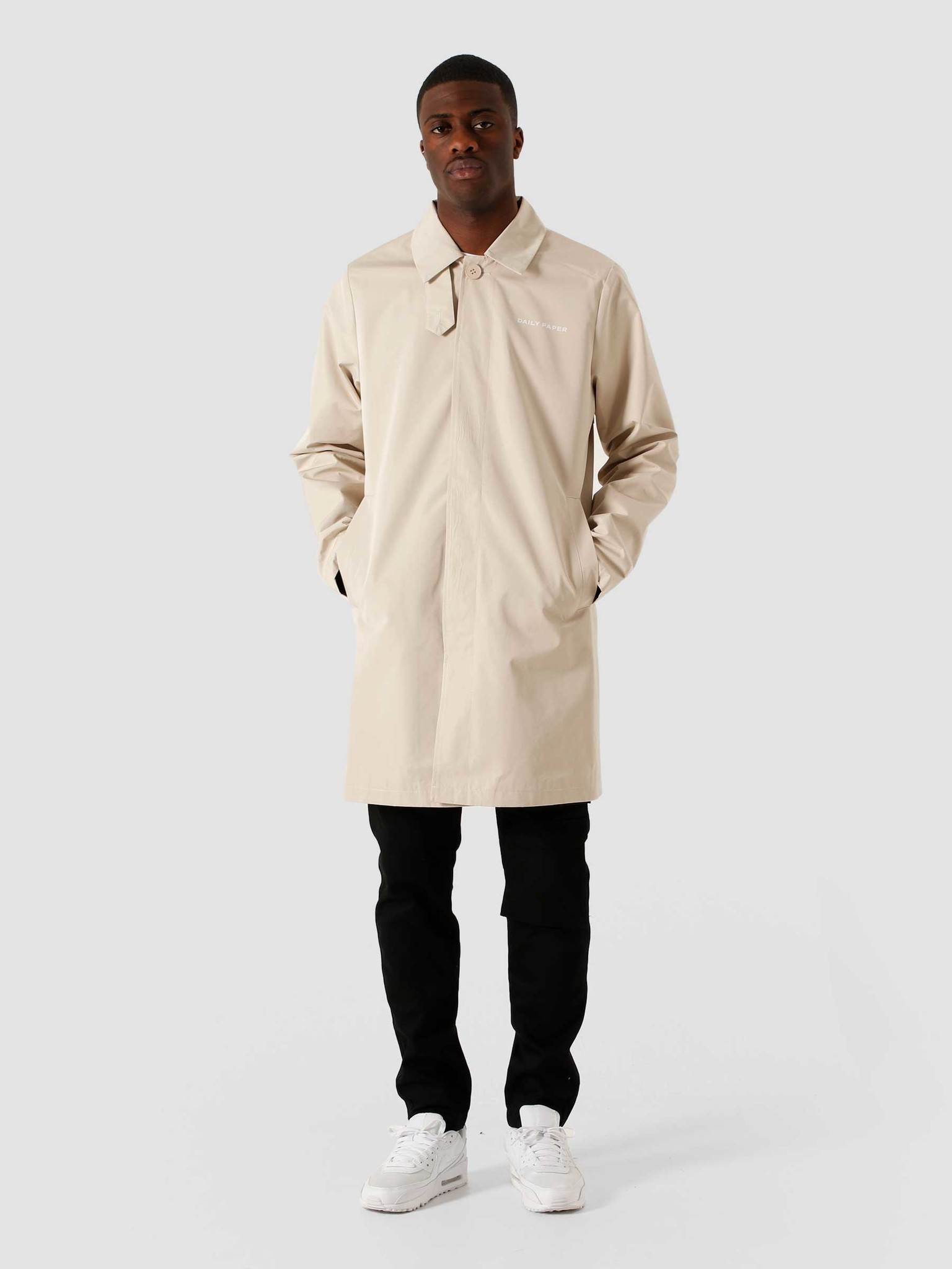 Daily Paper Daily Paper Emad Rain Coat Chateau Grey 2111027