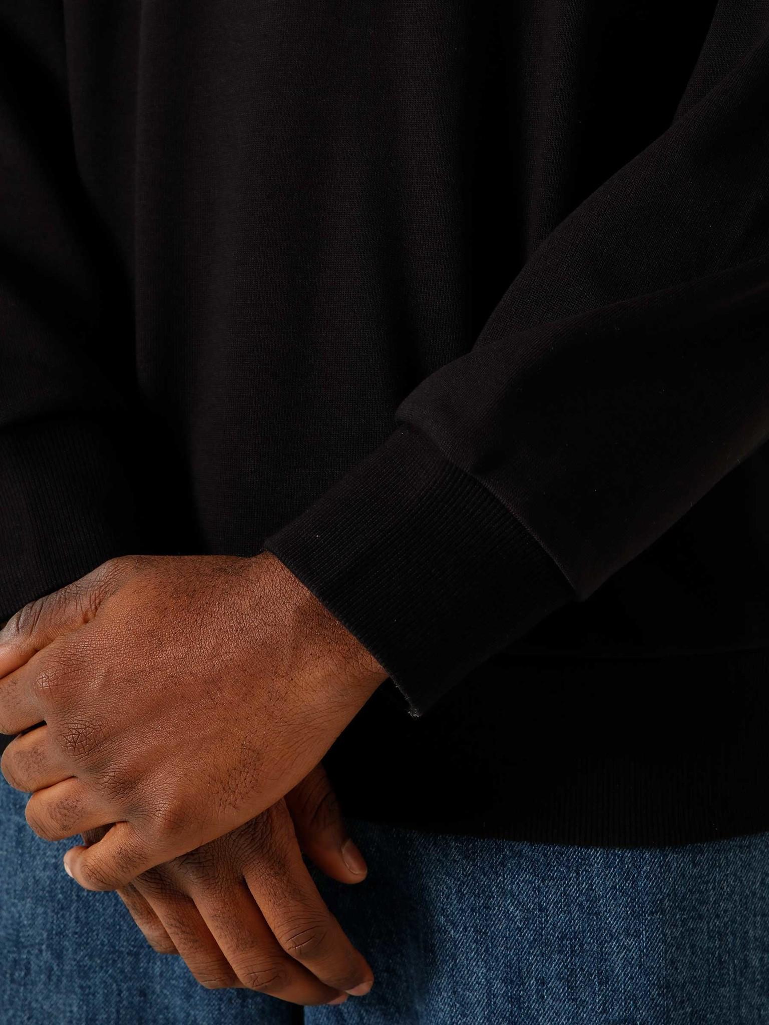 Carhartt WIP Carhartt WIP Wavy State Sweat Black White I028984-8990