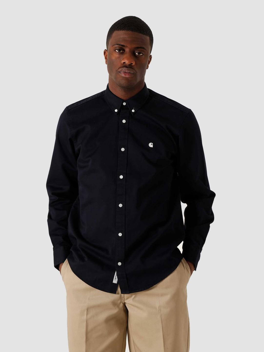 Carhartt WIP Carhartt WIP Madison Shirt Dark Navy Wax I023339-1C90
