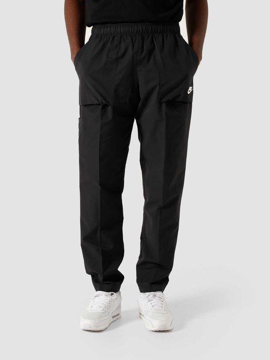 Nike NSW Ce Woven Pant Players Black White CZ9927-010