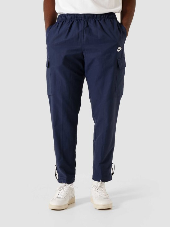 Nike NSW Pant Woven Players Midnight Navy White CU4325-410