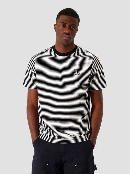by Parra Static Flight Striped T-Shirt 45020
