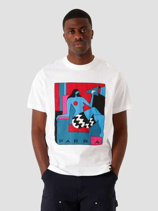 by Parra Too Loud T-Shirt White 45000