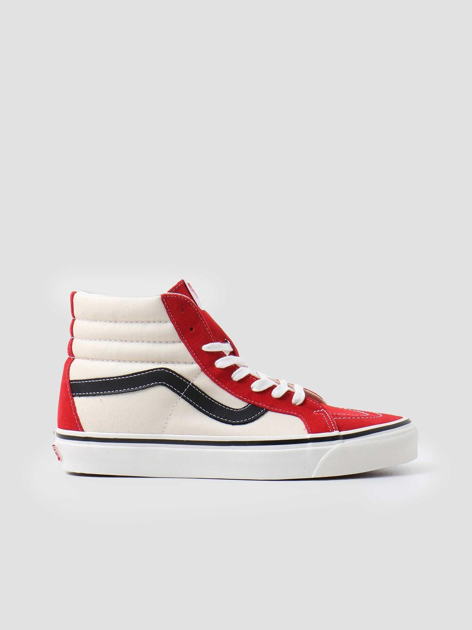 Vans Vans UA SK8-Hi 38 DX Anaheim Factory OG Red White Black VN0A38GF4UK1