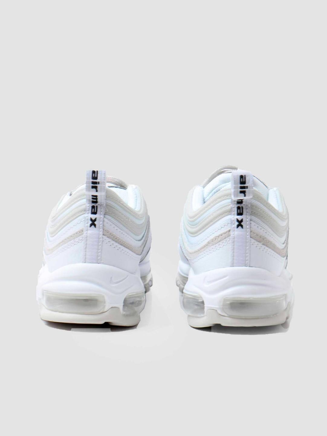 Nike Nike Air Max 97 White Light Bone Black Team Orange DH4105-100