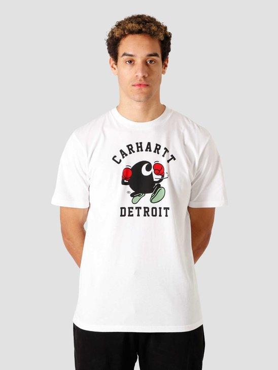 Carhartt WIP SS Boxing C T Shirt White I029026-200
