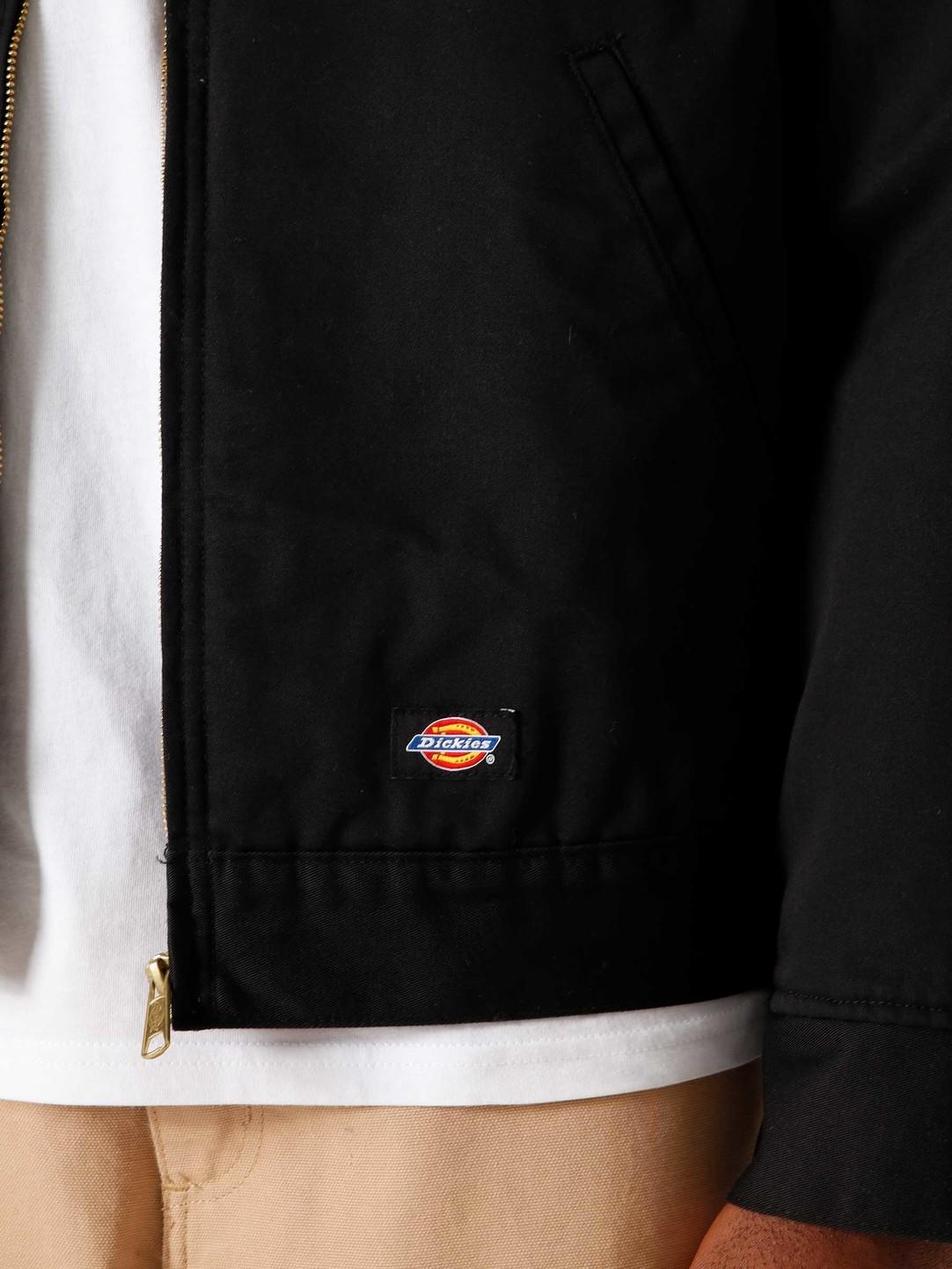 Dickies Dickies Lined Eisenhower Jacket Black DK00TJ15BLK1