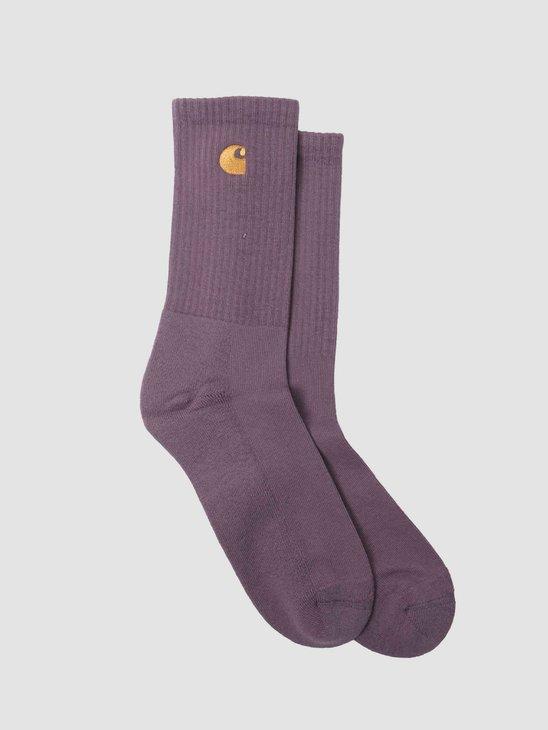 Carhartt WIP Chase Socks Provence Gold I029421-0AF90