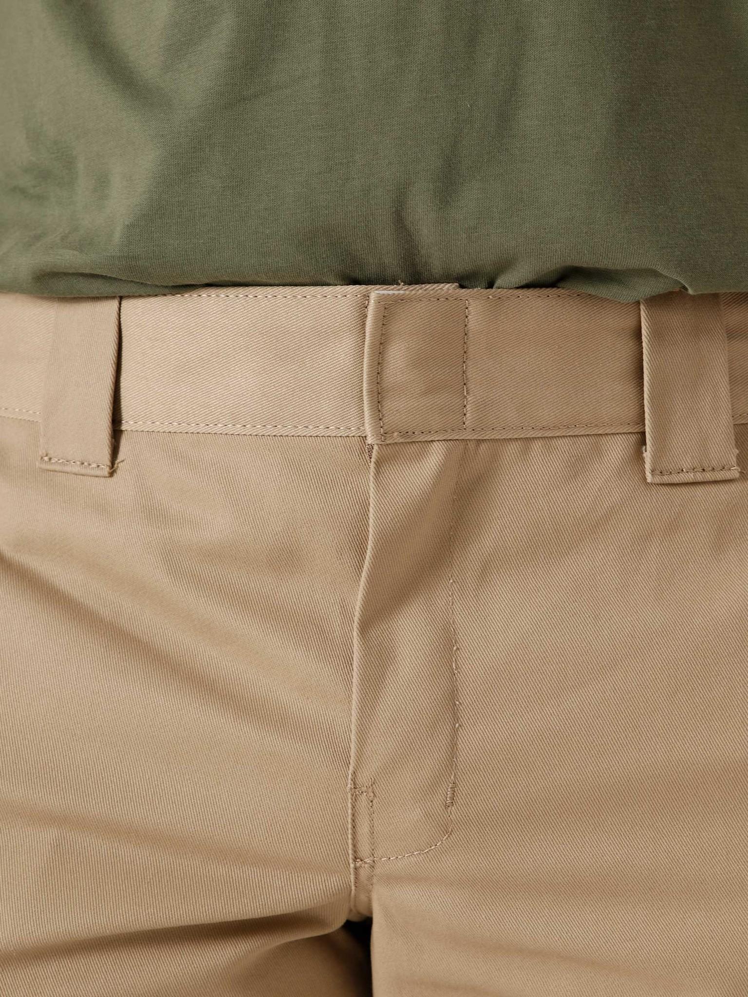Dickies Dickies Slim Straight Work Pant Khaki DK0WP873KHK1