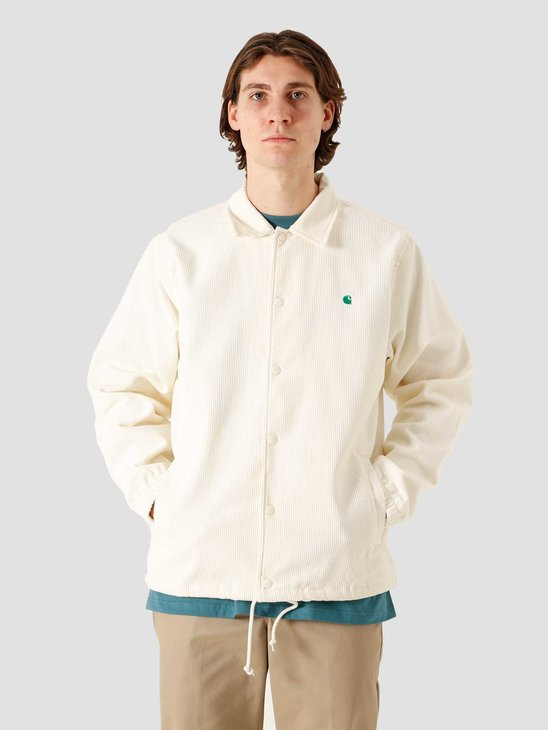 Carhartt WIP Corduroy Coach Jacket Wax Kingston I028736-D690