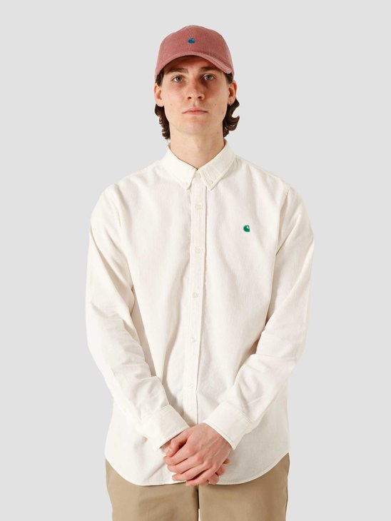 Carhartt WIP LS Madison Cord Shirt Wax Kingston I028802-D690