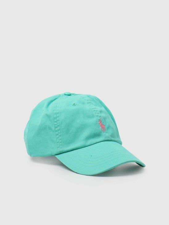 Polo Ralph Lauren Classic Sport Cap Sunset Green 710811338003