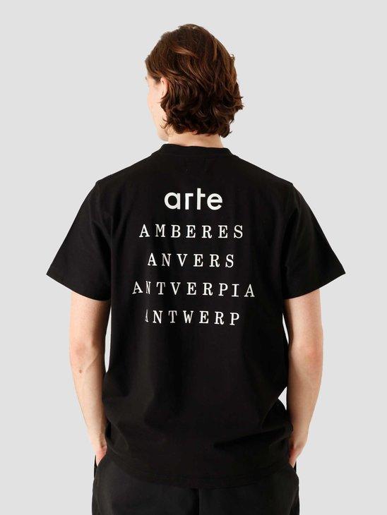 Arte Antwerp Tomi Antverpia Black 042T
