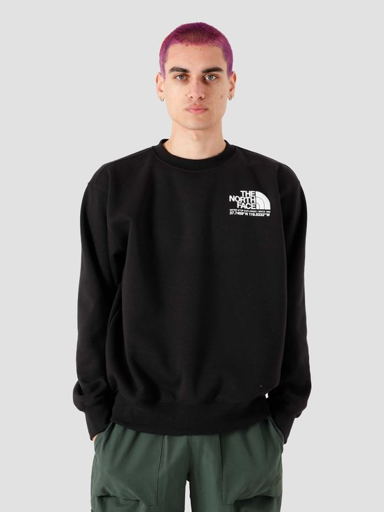 The North Face Coordinates Crew Black NF0A55MXJK3