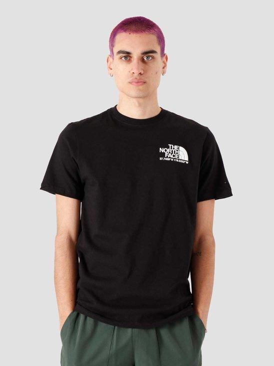 The North Face Coordinates T-Shirt Black NF0A52Y8JK3