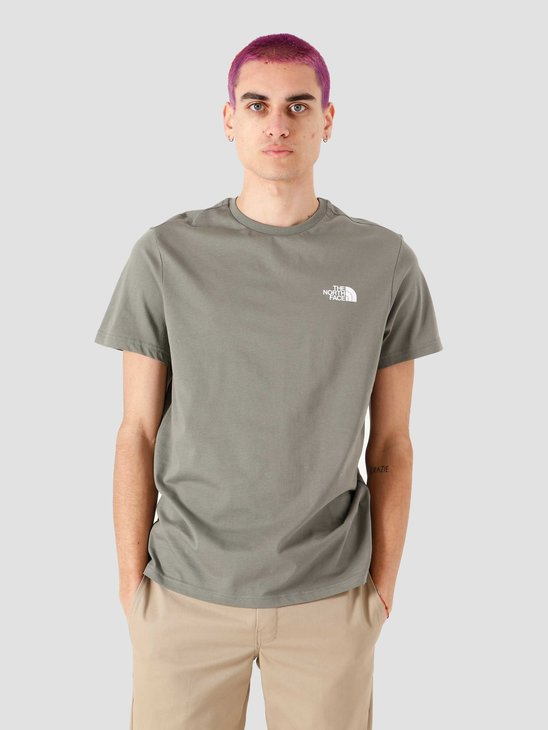 The North Face Simple Dome T-Shirt Agave Green NF0A2TX5V38