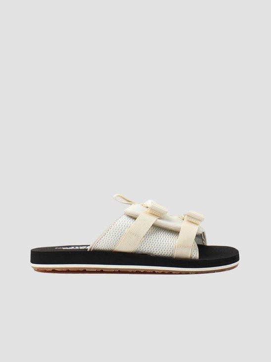 The North Face EQBC Slide Outdoor Sandal Vintage White Black NF0A46B3L0E