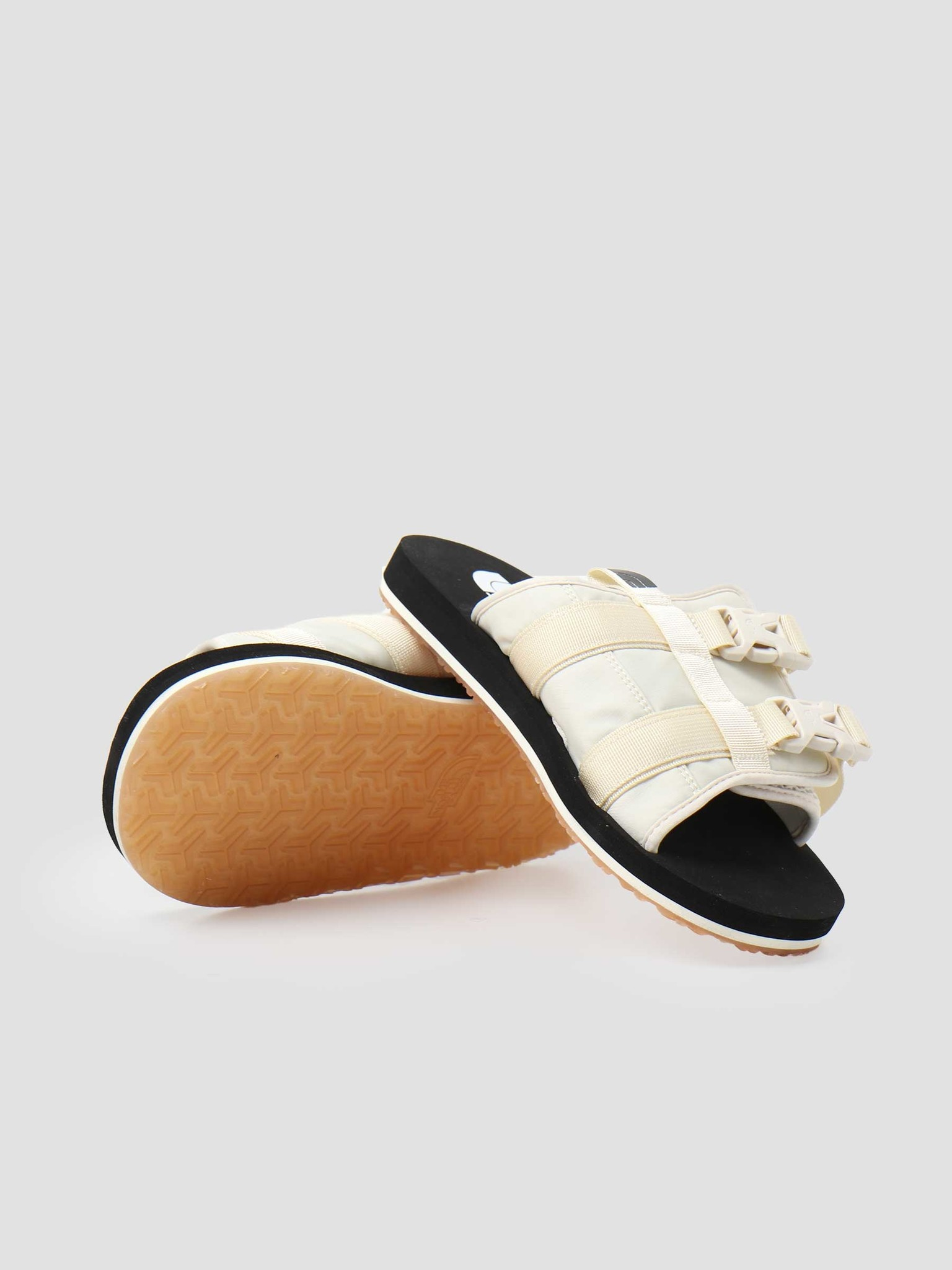 The North Face The North Face EQBC Slide Outdoor Sandal Vintage White Black NF0A46B3L0E