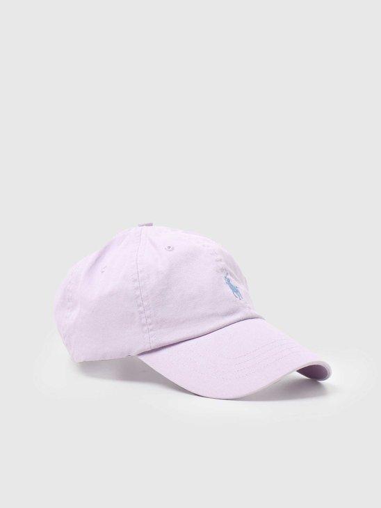 Polo Ralph Lauren Classic Sport Cap With Small PP Spring Iris 710673213048